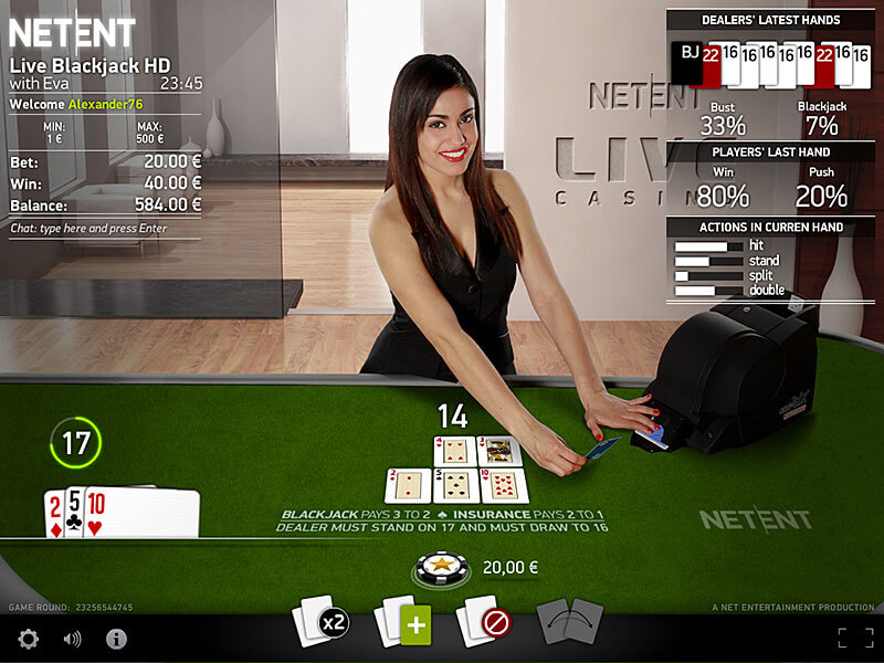 Live Casino NetEnt