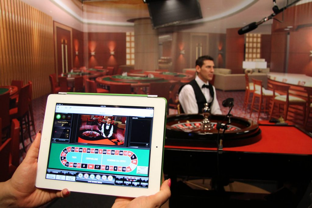 Live Casino on your Tablet