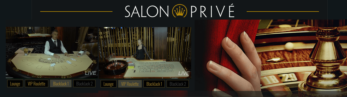 VIP Live Casino Salon Prive