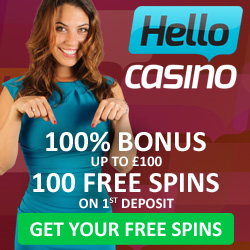 Use this Hello Casino Welcome Offer