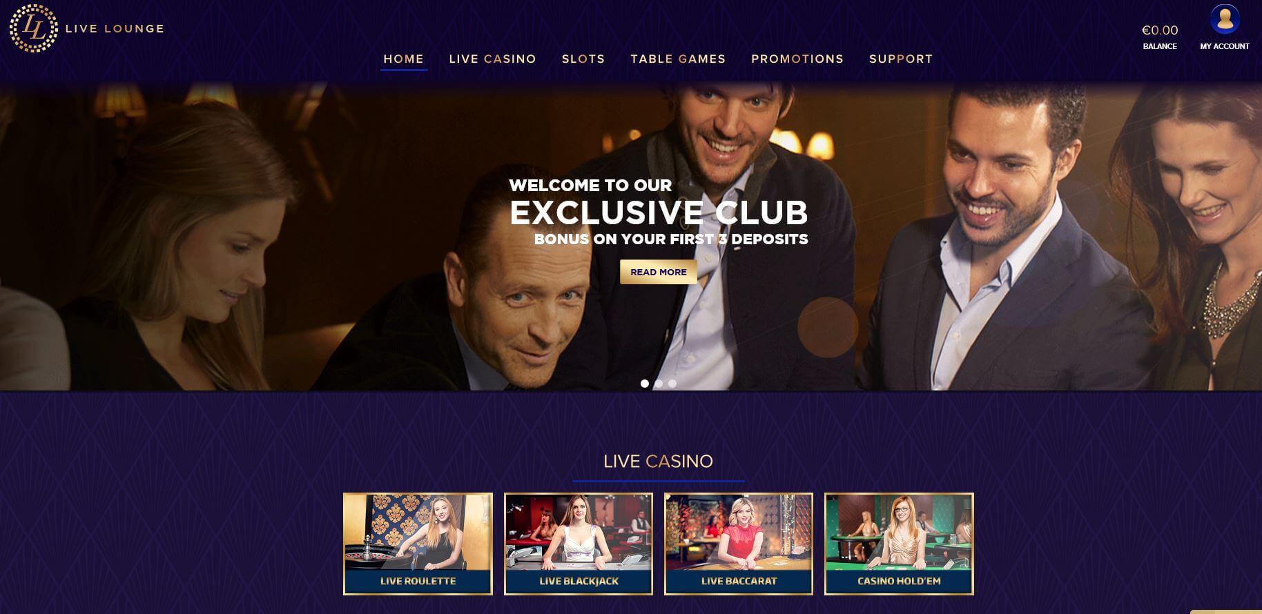 Live Lounge Live Casino
