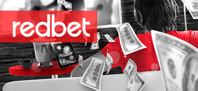 Redbet Live Casino Front Page