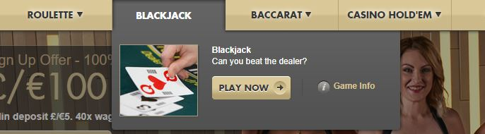 Paddy Power Blackjack Live Casino