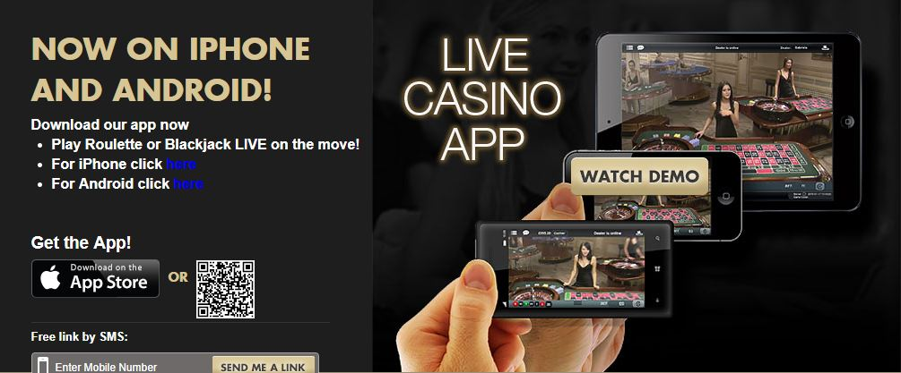 Paddy Power Mobile Live Casino