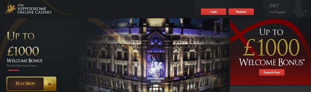 Hippodrome live casino website