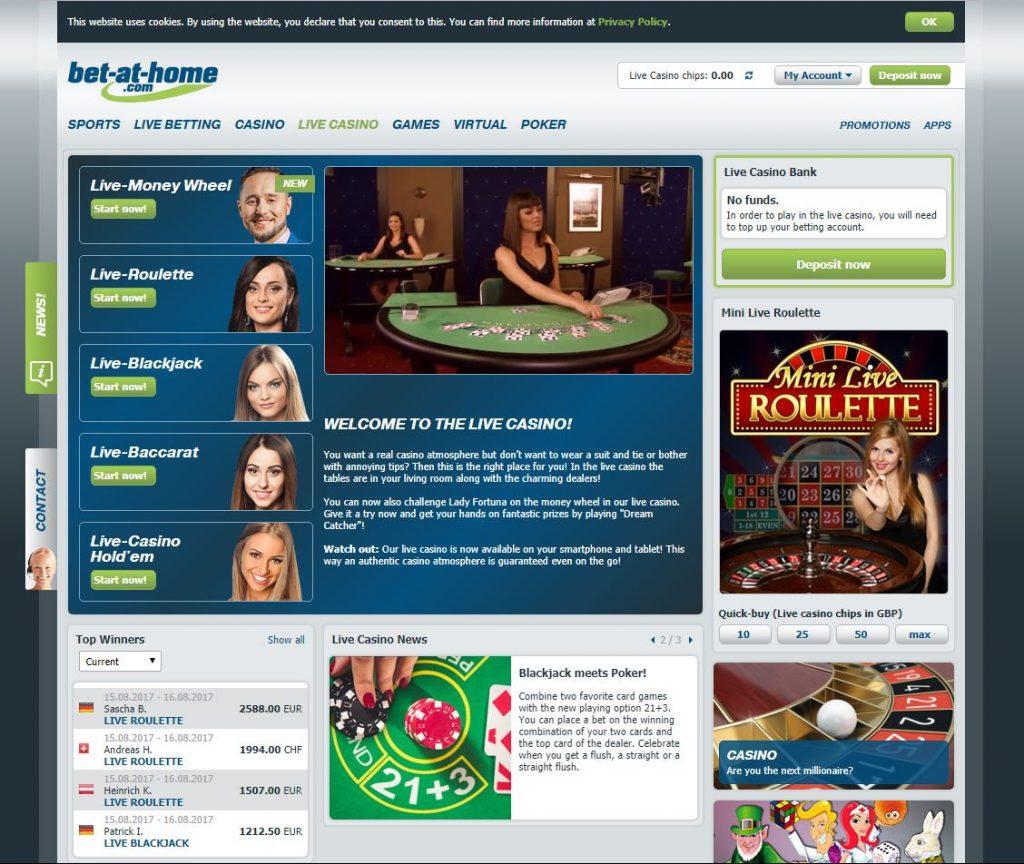 Live Online Casino UK | Live.Casino.com