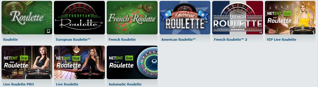 BetAtHome Roulette Games