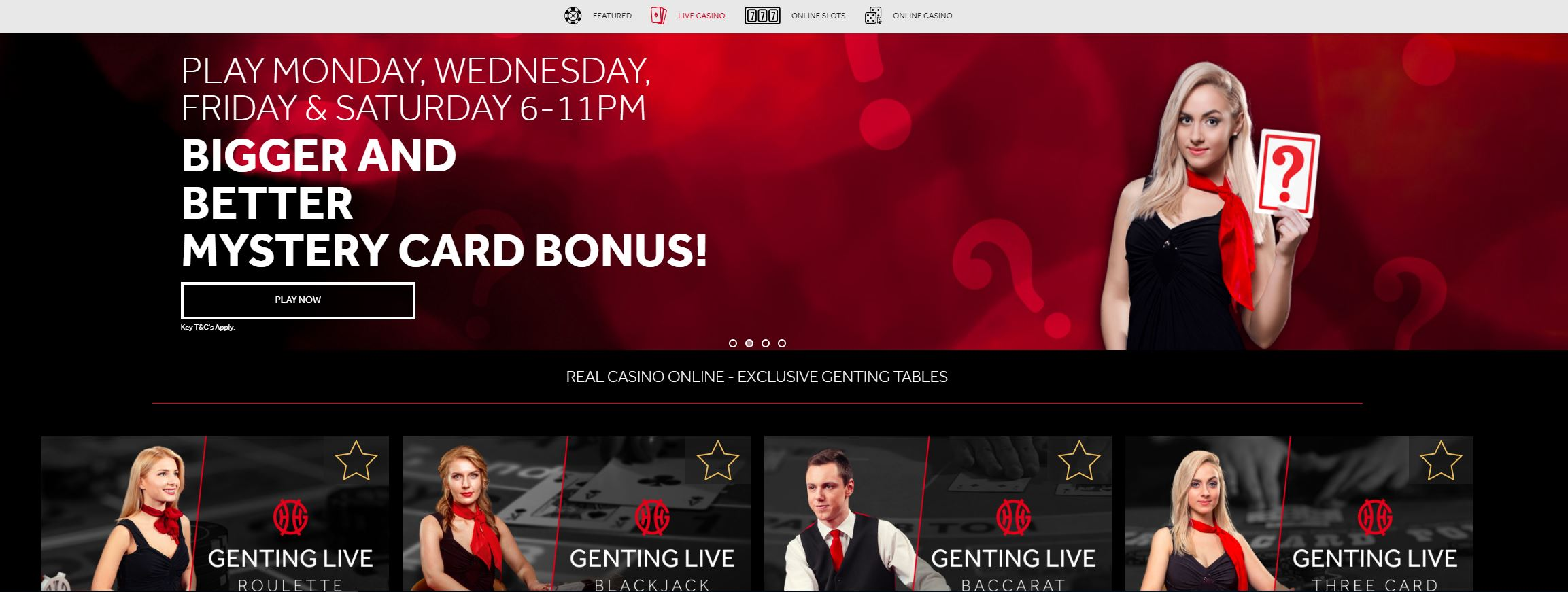 Front Page Genting Casino
