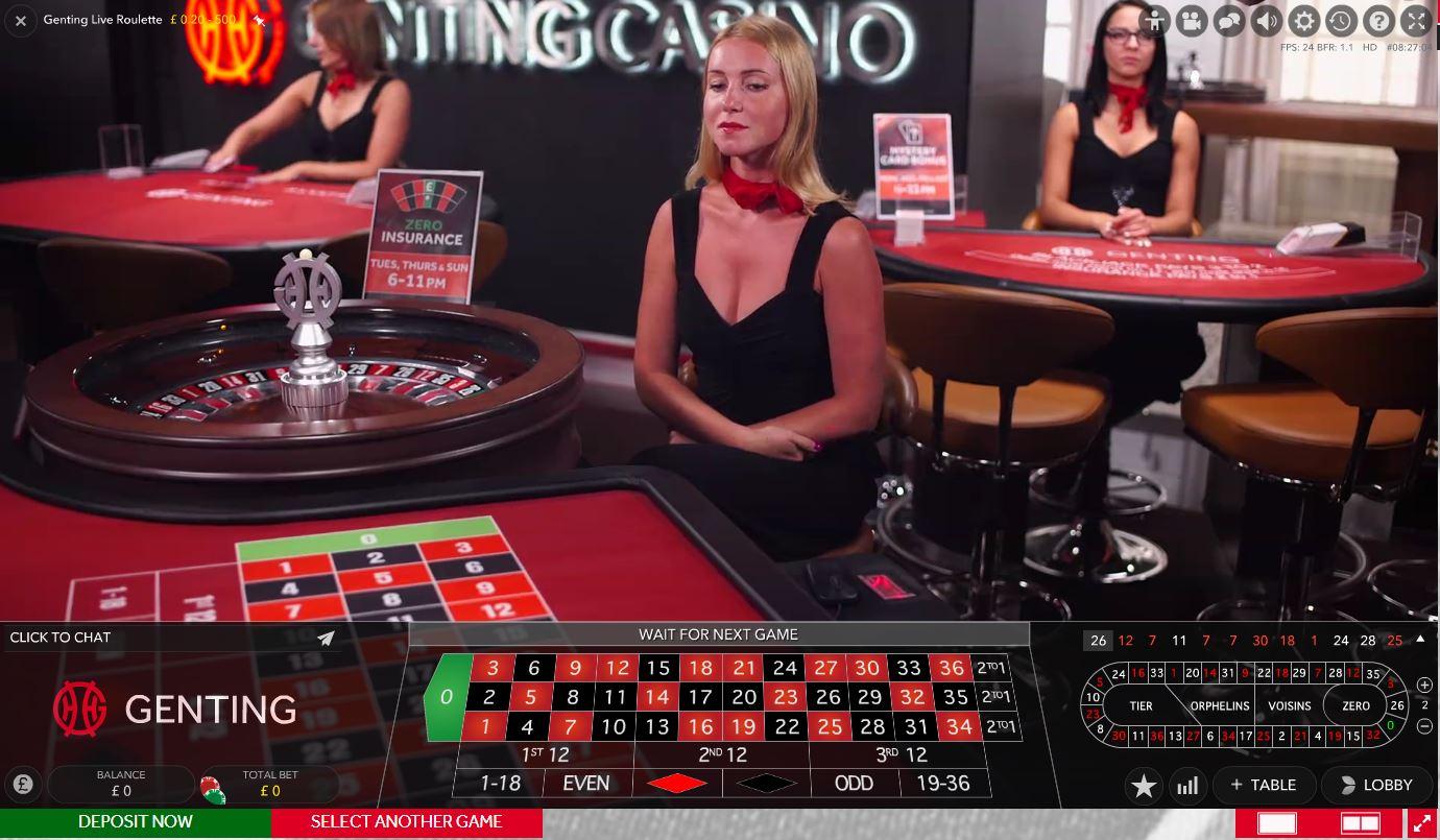 Genting Casino Roulette Dealer