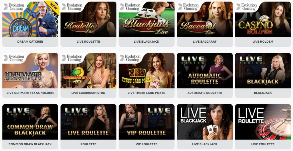 Miami Dice Live Casino Softwares
