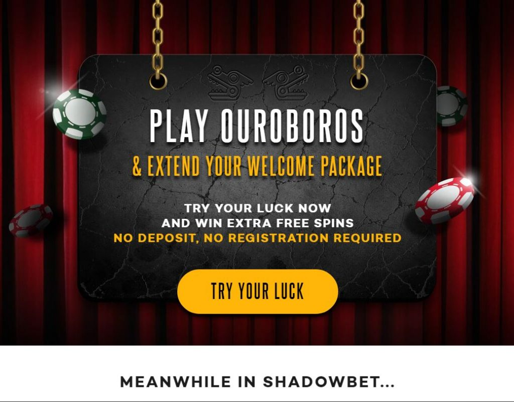 ShadowBet Live Casino Registration