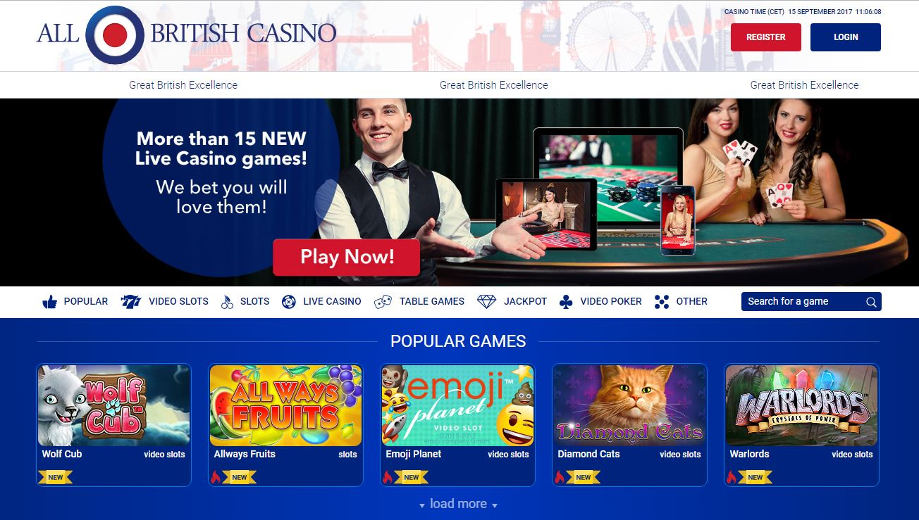 All British Live Casino General