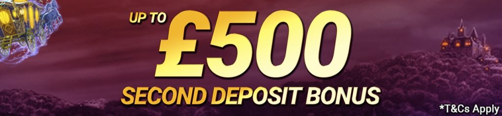 Second Deposit Bonus Live Casino