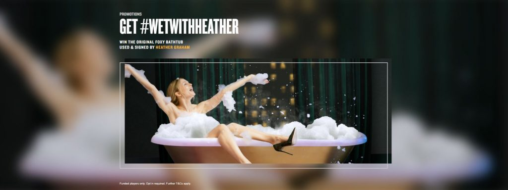 Foxy Live Casino Get Wet With Heather